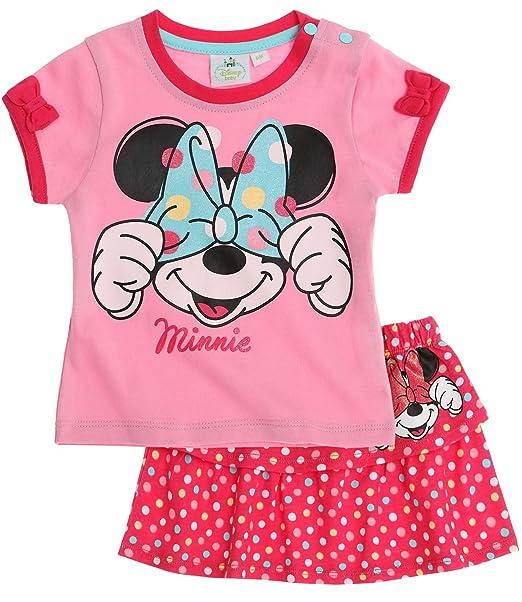 Fucsia Disney Minnie Babies Vestito /& Slip 2016 Collection
