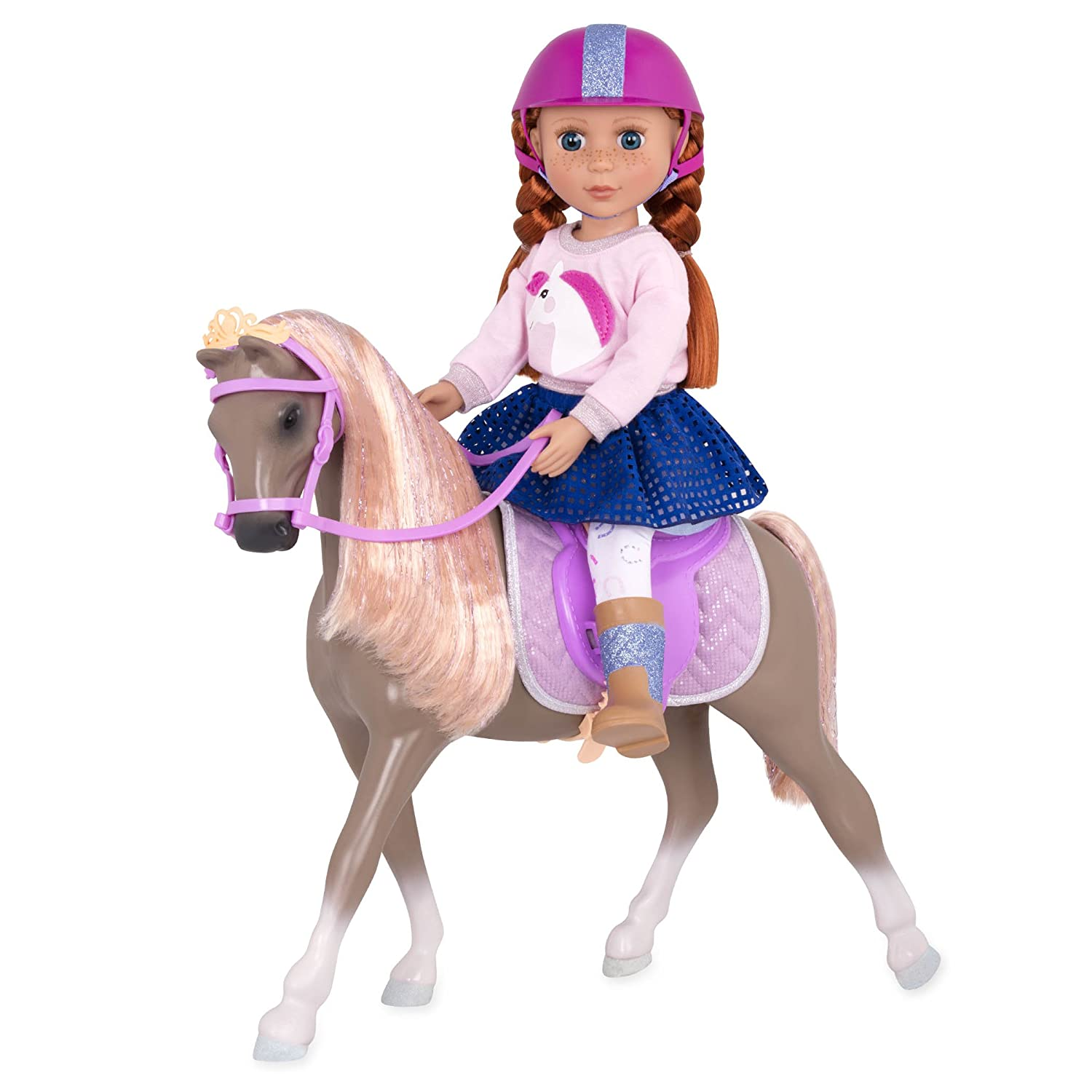 Amazon.com: Glitter Girls by Battat - Wanderlust 14-inch Toy Horse - Doll  Clothes and Accessories for Girls 3-Year-Old and Up: Toys & Games