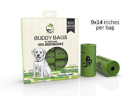 Amazon.com: Tinca Buddy Bags, 120 bolsas de caca extra ...