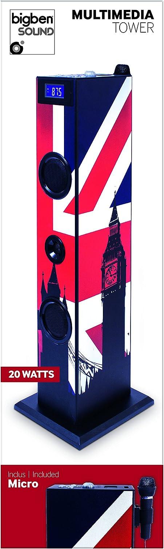 "BigBen TW5GB Torre Multimedia ""London"""