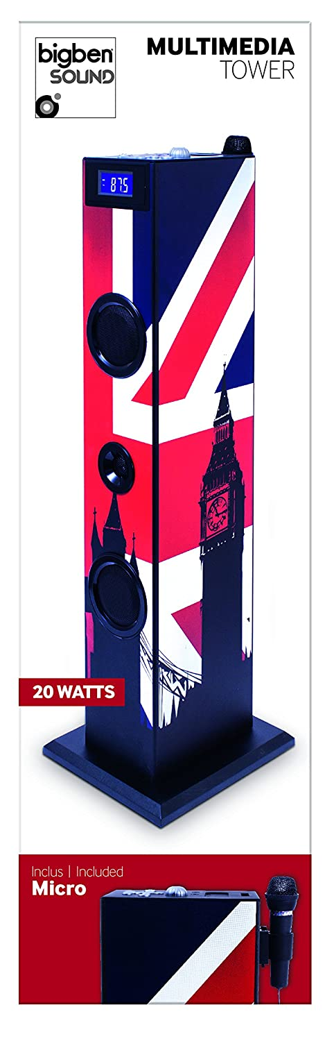 "BigBen TW5GB Torre Multimedia ""London"""