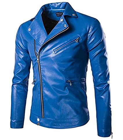 Amazon.com: uygmxdnxg Mens Classic Motorcycle Jacket Motorcycle Jacket: Clothing