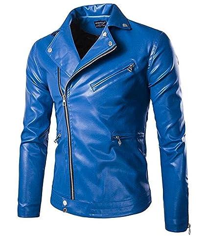 Amazon.com: uygmxdnxg Mens Classic Motorcycle Jacket Motorcycle Jacket: Clothing