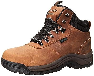 Propet Men's Cliff Walker Boot Brown Nubuck 8.5 X (3E) & Oxy Cleaner Bundle