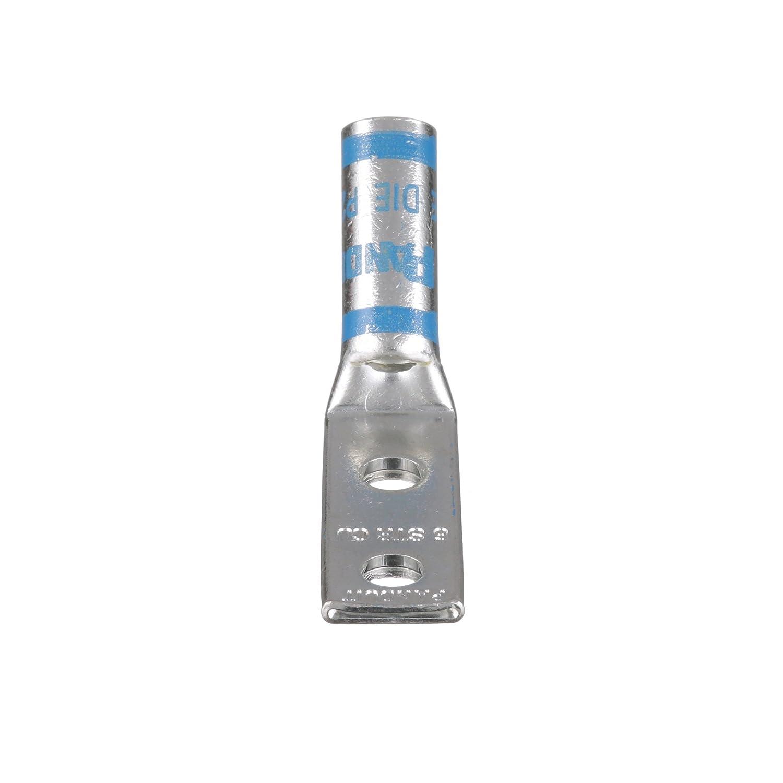 2019超人気 パンドウイット 国内正規品 銅製圧縮端子 2穴 電線挿入確認用穴付き標準バレル 500kcmil 取付穴13.5mm 取付穴間隔44.5mm 1/4-Inch バレル角度45° ワイヤ .75-Inch 6個入 LCD500-12H-6 B00B5NO1EC 1/4-Inch Stud Hole, .75-Inch Hole Spacing 1/4-Inch Stud Hole, .75-Inch Hole Spacing 3/0 AWG ワイヤ, zwbaby:89edf8bb --- a0267596.xsph.ru
