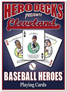 product image for Channel Craft Hero Decks - Cleveland Indians - Playing Cards