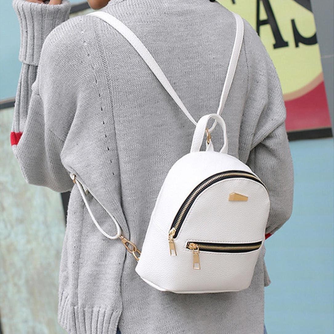 School Season,Koolee Women Leather Backpack College Rucksack Satchel Book Bag