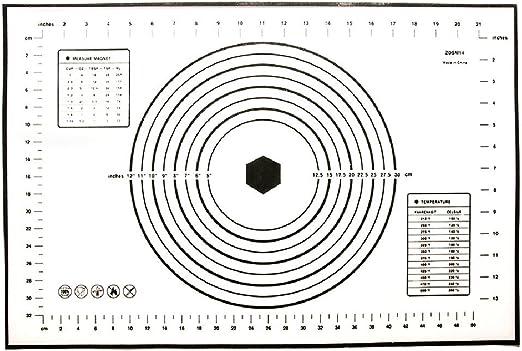 iGoodCake Superficie de Trabajo con Medidas 60 x 40 cm: Amazon.es ...