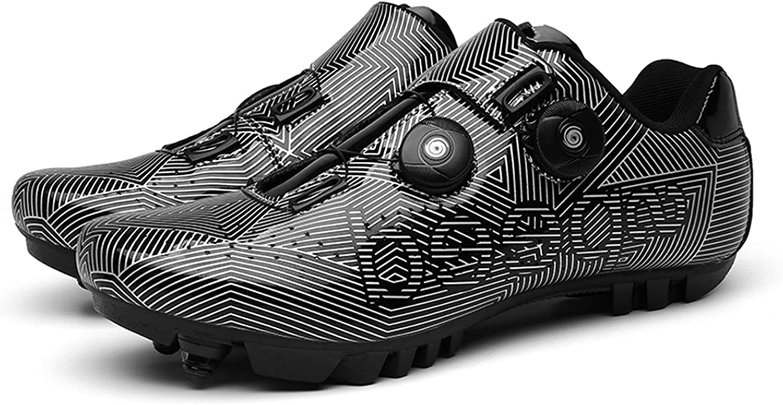 MTB Cycling Shoes Mens Outdoor Sport Bicycle Shoe Self-Locking Racing Bike Shoes