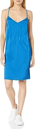 Marca Amazon - Darcy - Mini Vestido Elástico Con Lazo - dresses Mujer por The Drop