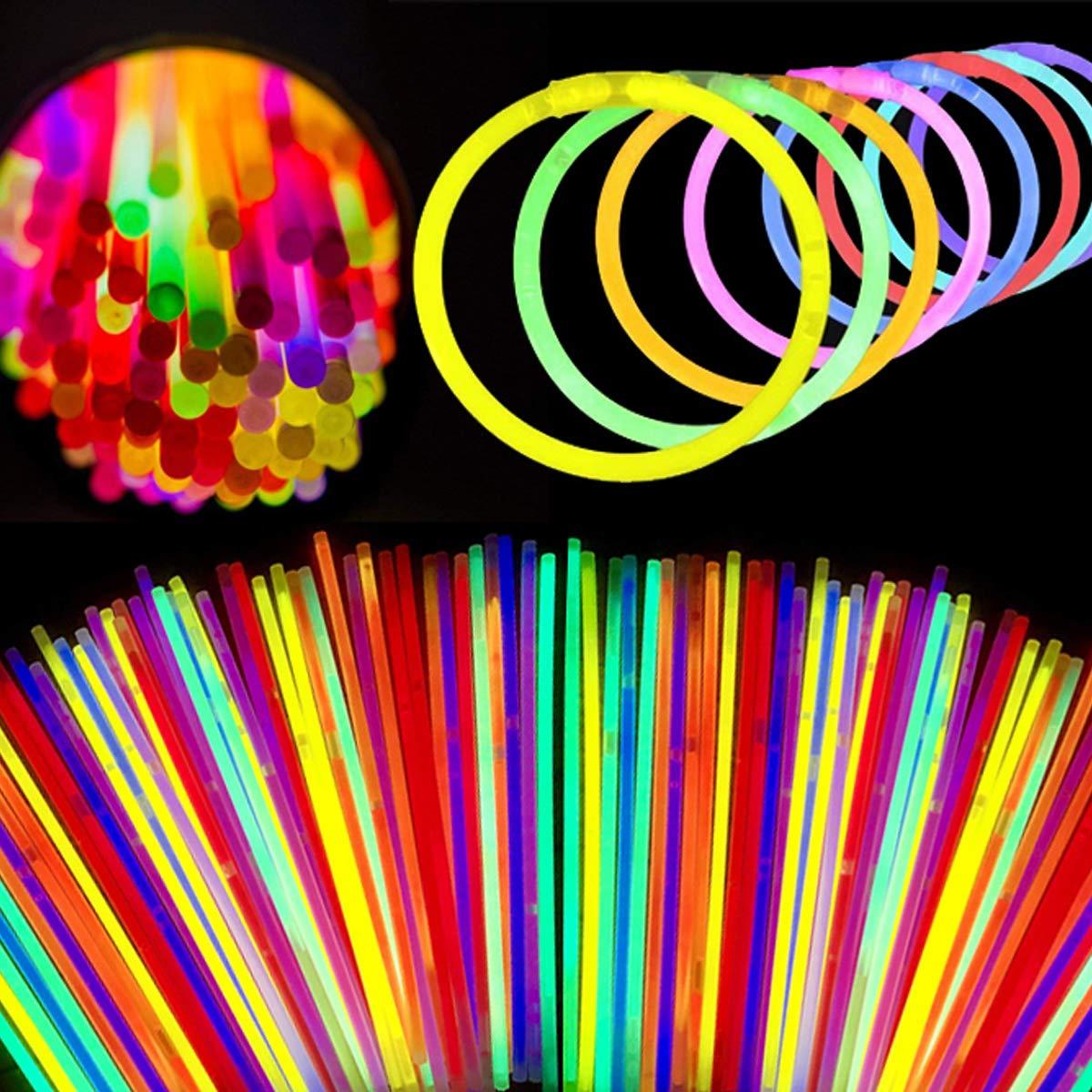 Glow Sticks Bulk 100 Ct - 8