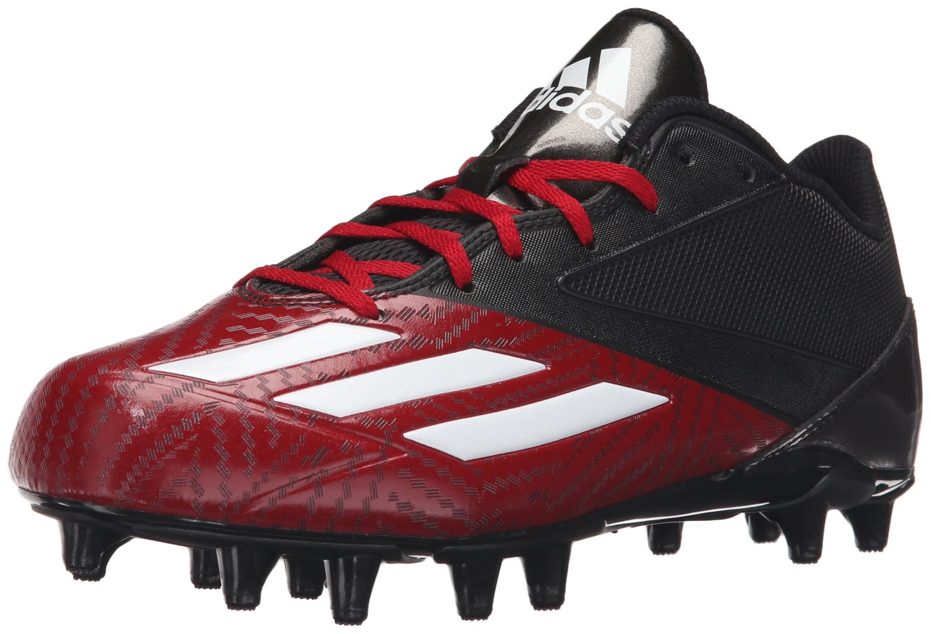 adidas Originals Men's 5-Star Low Football Shoe B0163G9Y10 7.5 D(M) US|Black/White/University Red