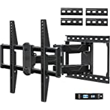 Mounting Dream Full Motion TV Mount for Most 42-70 Inch TVs, Adjustable TV Mount Swivel and Tilt with Articulating Dual Arms,
