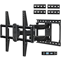Mounting Dream Full Motion TV Mount for Most 42-75 Inch TVs, Adjustable TV Mount Swivel and Tilt with Articulating Dual…