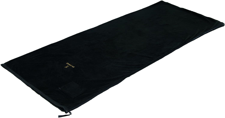 Browning Camping 4801221 Alpine Fleece Sleeping Bag (Black) by Browning Camping B00495D6BW