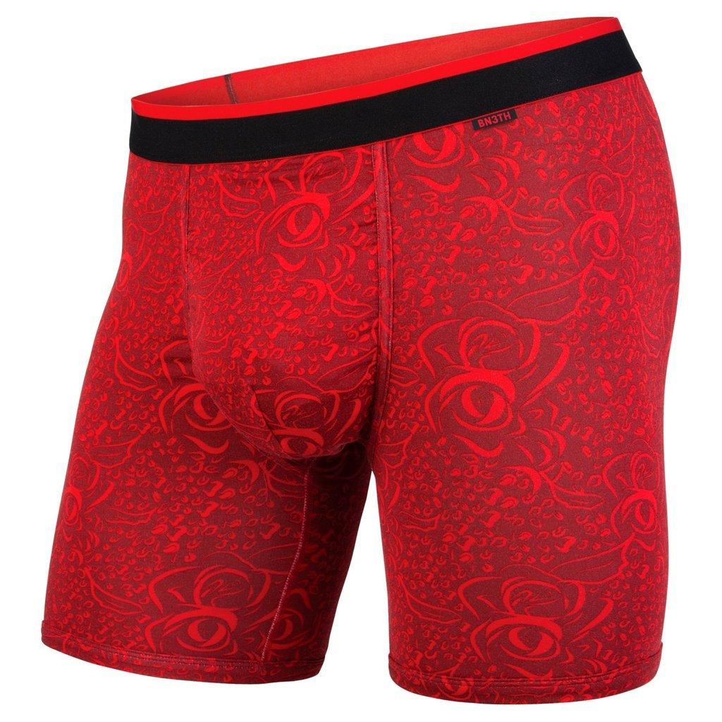 BN3TH Men's Classics Boxer Brief, Romeo Red, X-Large