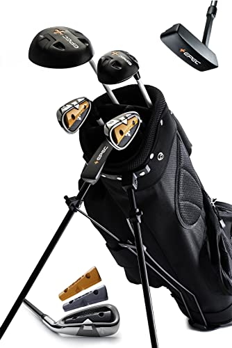 EPEC Upgradeable Junior Golf Clubs Bag for Kids 5PC Set