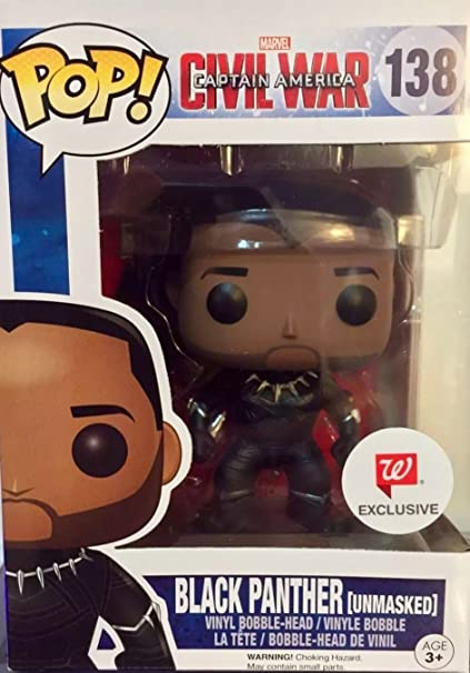 Amazon Com Funko Pop Marvel Captain America Civil War Black