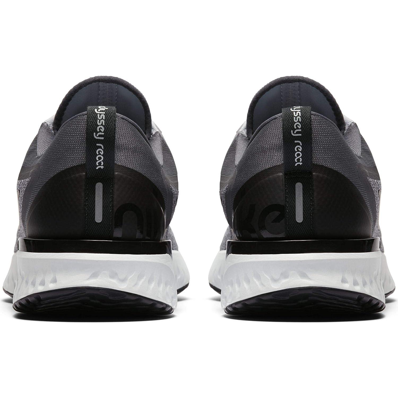 l'odyssée des chaussures nike les hommes réagissent loup gris / platine, noir gris foncé, platine, / 11 f7d05c