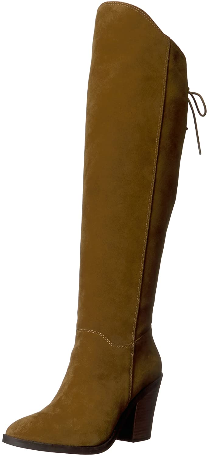 Lucky Brand Women's Pembe Knee High Boot B06XD18D9B 5.5 M US|Tapenade