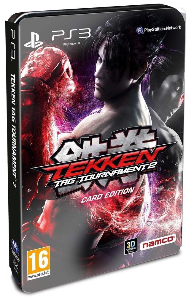 Tekken Card Edition (Tekken Tag 2 + Boite Métal + Booster 5 Cartes) [Importación Francesa]: Amazon.es: Videojuegos