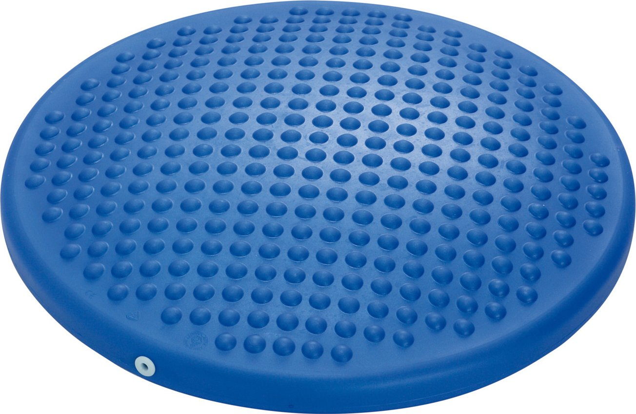 Gymnic Disc 'o' Sit Inflatable Seat Cushion, Blue 8911