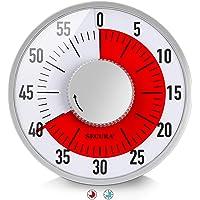 Secura - Temporizador visual, Rojo, 15.24 cm, 1
