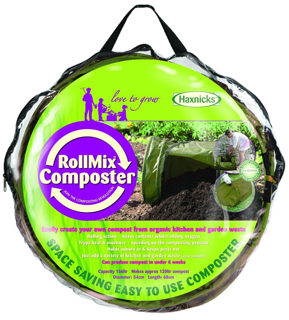 Amazon.com : Tierra Garden 50 1500 Haxnicks Roll Mix Composter, 41 Gallon  Capacity : Garden U0026 Outdoor