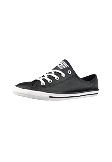 Converse Damen Sneaker Chuck Taylor All Star Dainty Low Ox Black White  (schwarz)