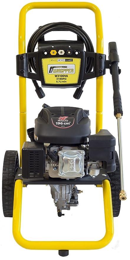 WASPPER ✦ Hidrolimpiadora de Motor de Gasolina 3100 PSI ✦ 196cc con Potencia de Alta presión