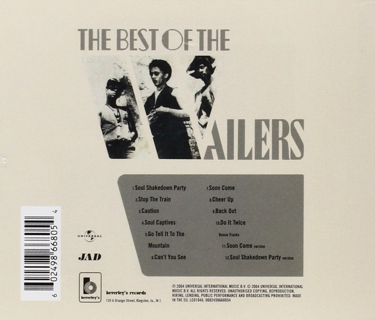 The Best Of The Wailers - Marley, Bob & The Wailers