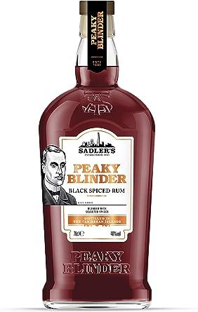 Peaky Blinder Black Spiced Rum 40% - 700 ml