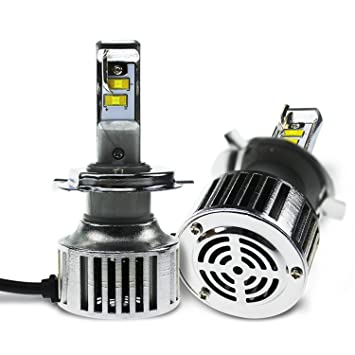 Amazoncom Evitek LED Headlight Bulbs for Cars Motorcycles HiLo