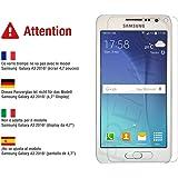 PREMYO cristal templado Samsung A3. Protector cristal templado A3 con una dureza de 9H, bordes redondeados a 2,5D. Protector pantalla Galaxy A3
