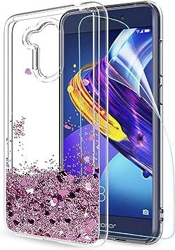 LeYi Funda Huawei Honor 6C Pro / V9 Play Silicona Purpurina ...