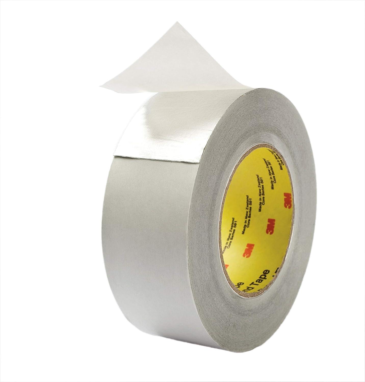"427 3M Aluminum 1/"" Foil Tape Duct Self Adhesive HVAC Work 425-1 Roll"