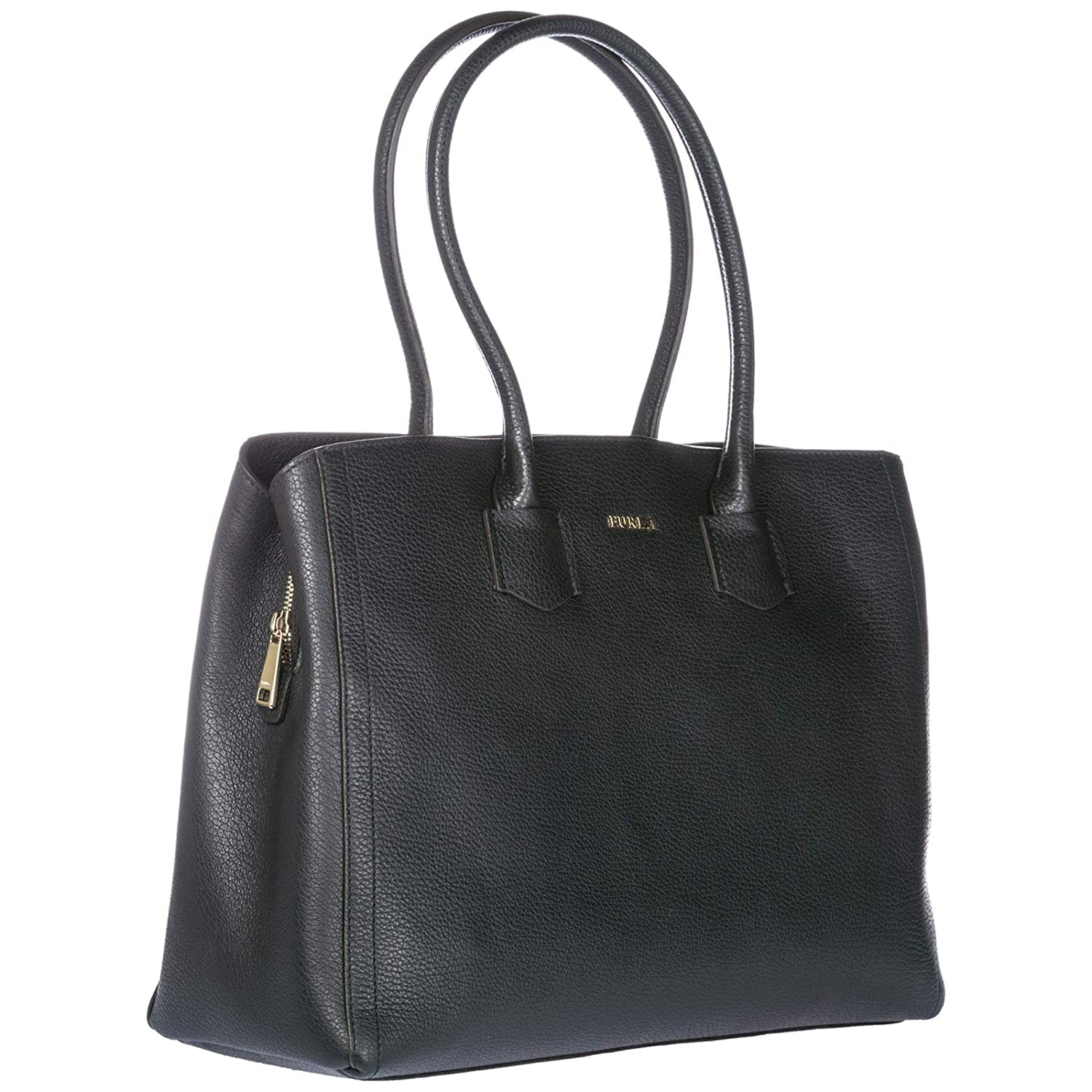 f4bccf9331 Amazon.com: Furla Women's Alba Large Tote Onyx One Size: Shoes
