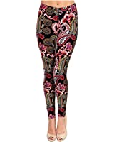 VIV Collection Best Selling Printed Brushed Leggings Plus Size (L - XXL) Listing 4