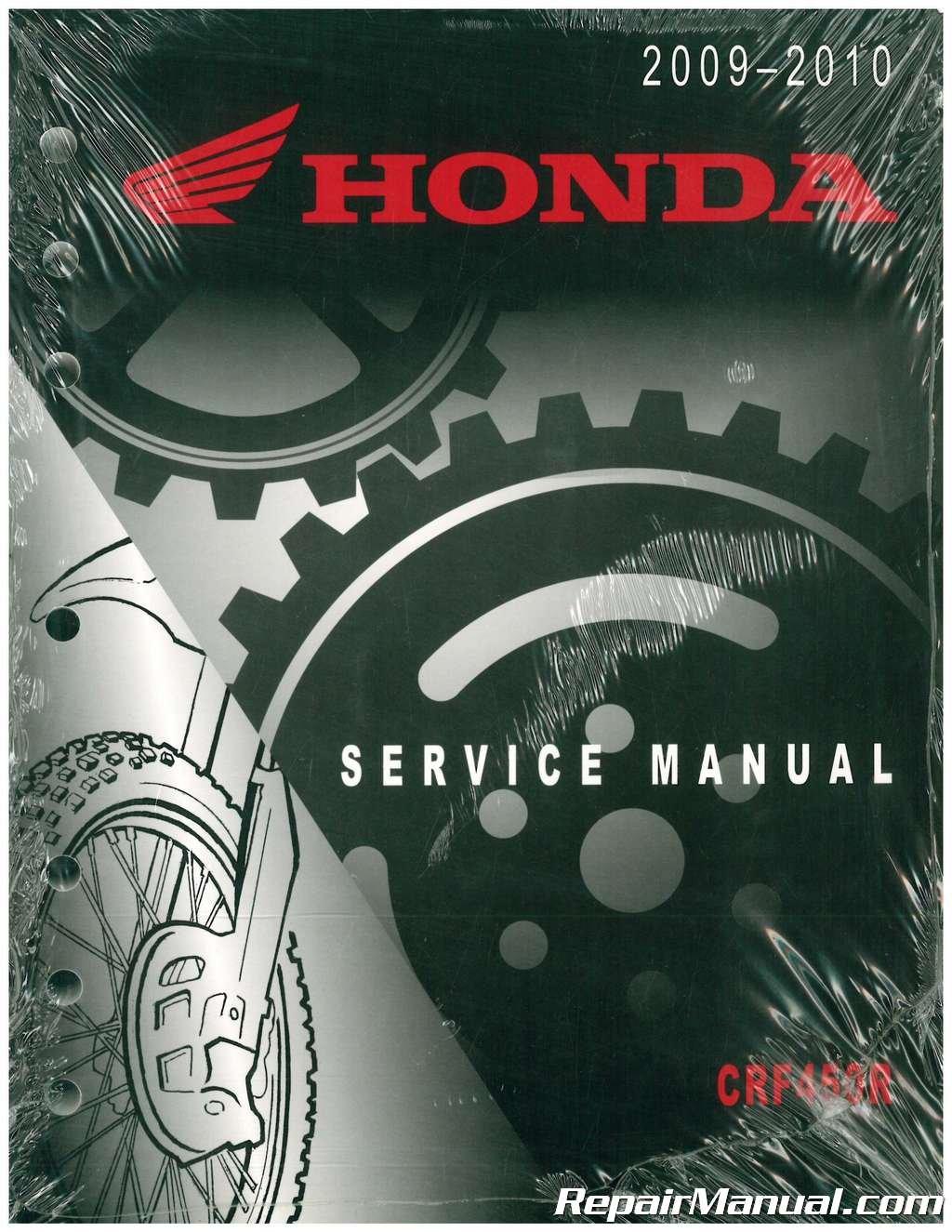 61MEN71 2009-2010 Honda CRF450R Motorcycle Service Manual: Manufacturer:  Amazon.com: Books