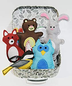 Woodland Animals Kids Sewing Craft Kit, Educational Arts & Craft Gift for Boys and Girls Ages 7 to 12