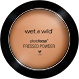wet n wild Photo Focus Pressed Powder, Tan Beige, 7.5 Gram