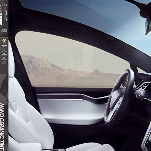 MotoShield Pro Premium Professional 2mil Ceramic Window Tint Film