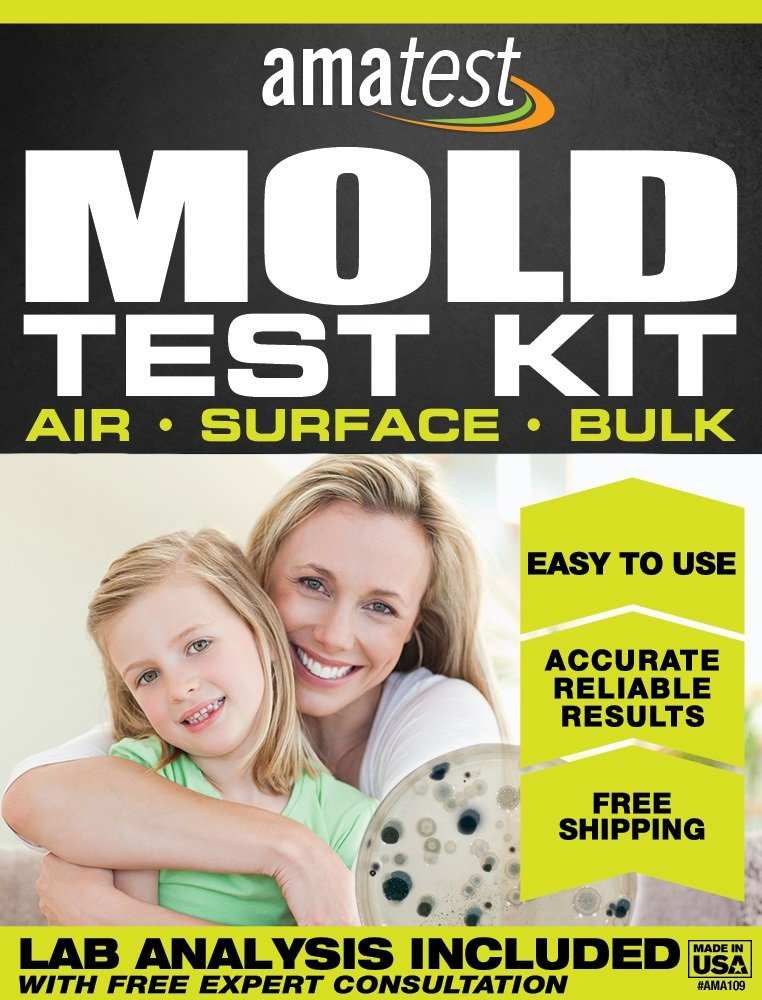 Amatest AMA109 Mold Test Kit, Includes Lab Analysis Fee, Prepaid Freight Envelope and Expert Consultation