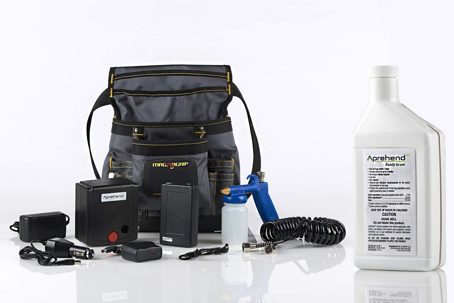 Aprehend Low Volume Sprayer Kit for Getting Rid of and Killing Bed Bugs for Good