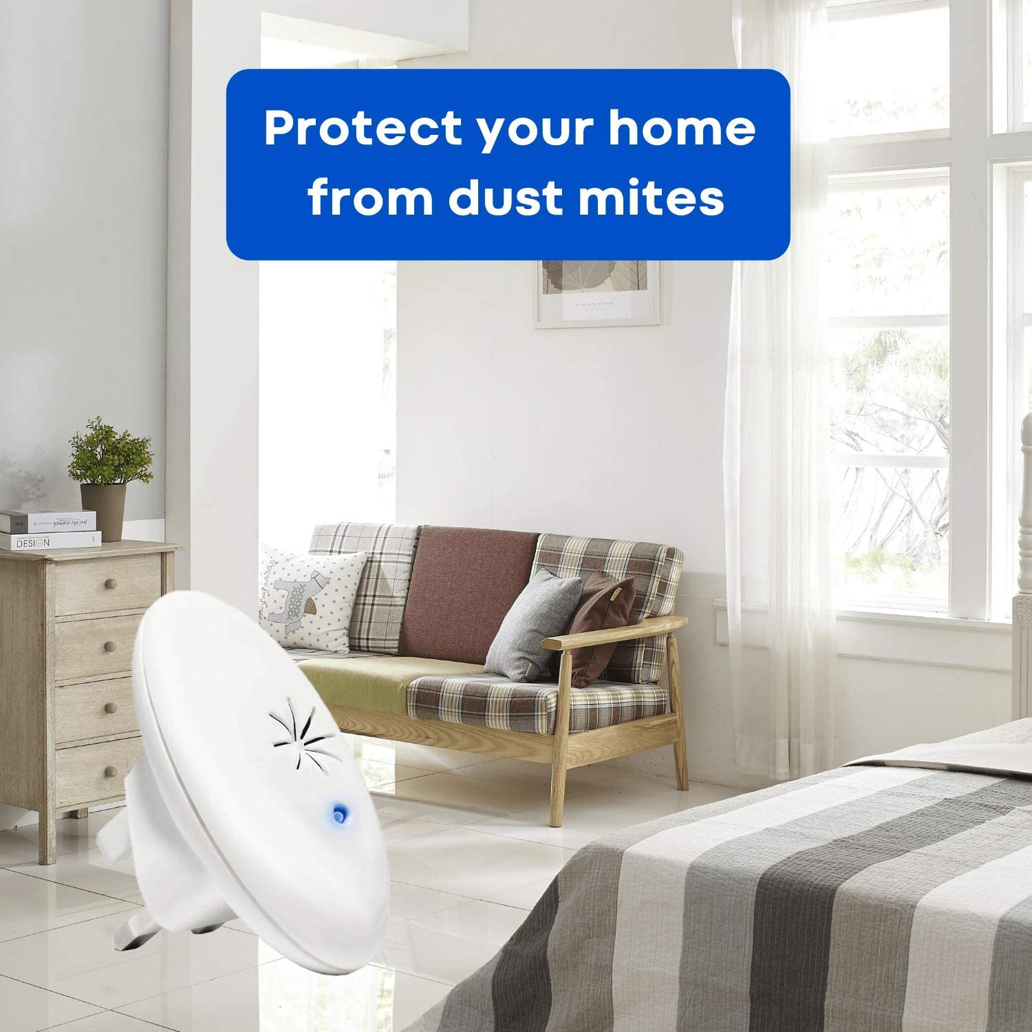 Dust Mite Controller For Asthma Allergies And Eczema Amazon Co Uk Health Personal Care