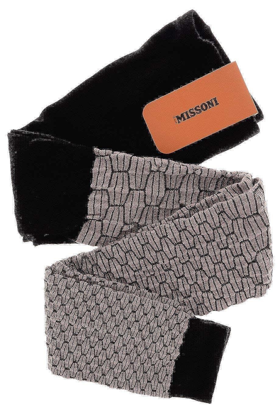 MISSONI VIRGIN Wool Purple Leggings