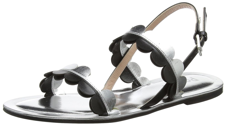 Pollini W.Sandal, Sandali con Cinturino alla Caviglia Donna