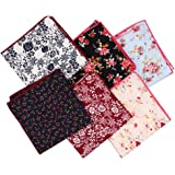 Huihuger Pañuelo de seda para hombre, suave, de alta calidad, color liso, con bolsillo cuadrado (multicolor)