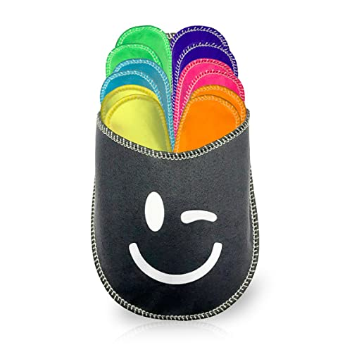 diMio - Zapatillas de Estar por casa de Fieltro para Mujer 36-45, Color