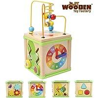 The Wooden Toy Factory - Cubo de Actividades